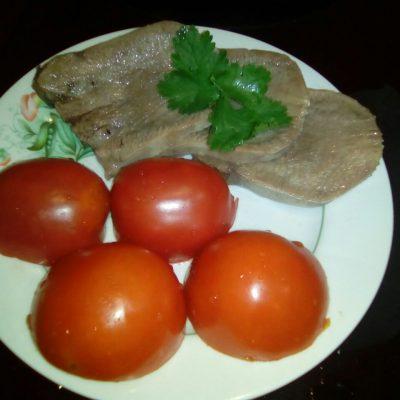 Язык говяжий отварной - рецепт с фото