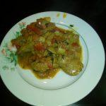 Печень куриная по-индийски