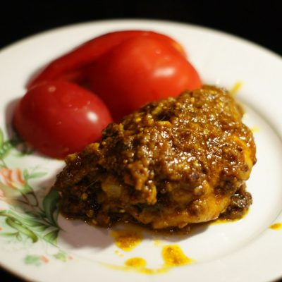 Куриные бедра по-индийски - рецепт с фото