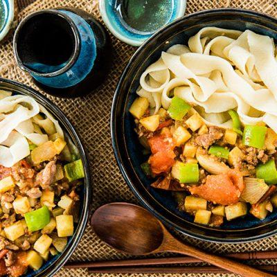 Рецепт лагмана из говядины с овощами - рецепт с фото