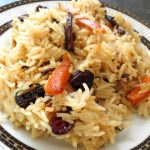 Рисовая каша с морковью и изюмом, в мультиварке