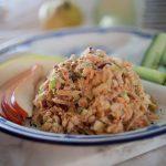 Рыбный салат «Горбуша по-праздничному»