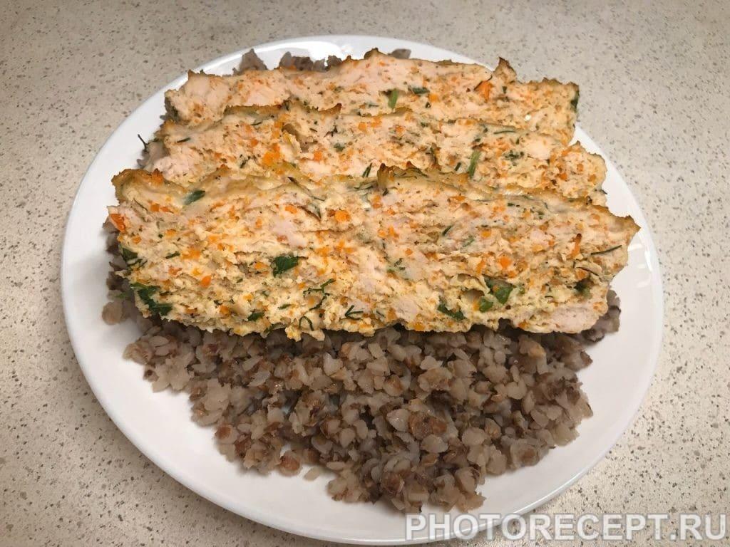 Фото рецепта - Мясная буханка из курицы - шаг 7