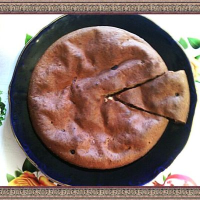 Заливной пирог с ягодами - рецепт с фото