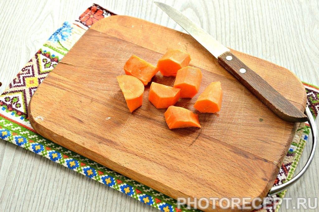 Фото рецепта - Морковно-картофельное пюре - шаг 2