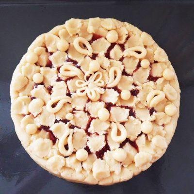 Ажурный пирог - рецепт с фото
