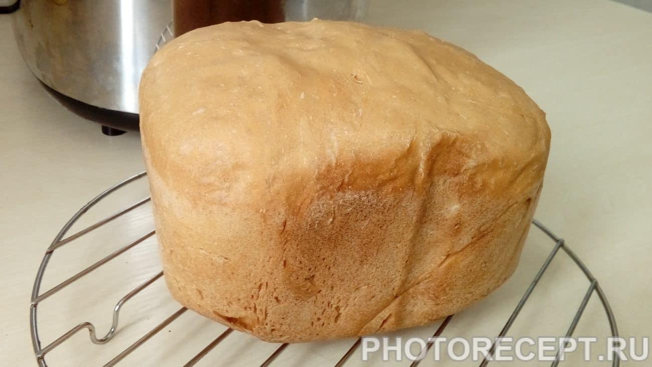 Белый хлеб «Французская булка» в хлебопечке