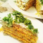 Печёночный торт «Пальчики оближешь»