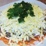 Салат из печени по-корейски