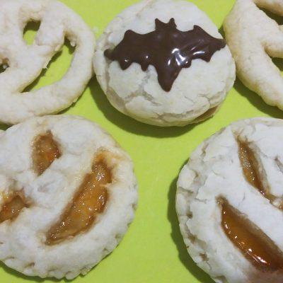 Быстрое печенье на Хэллоуин - рецепт с фото