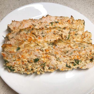Мясная буханка из курицы - рецепт с фото