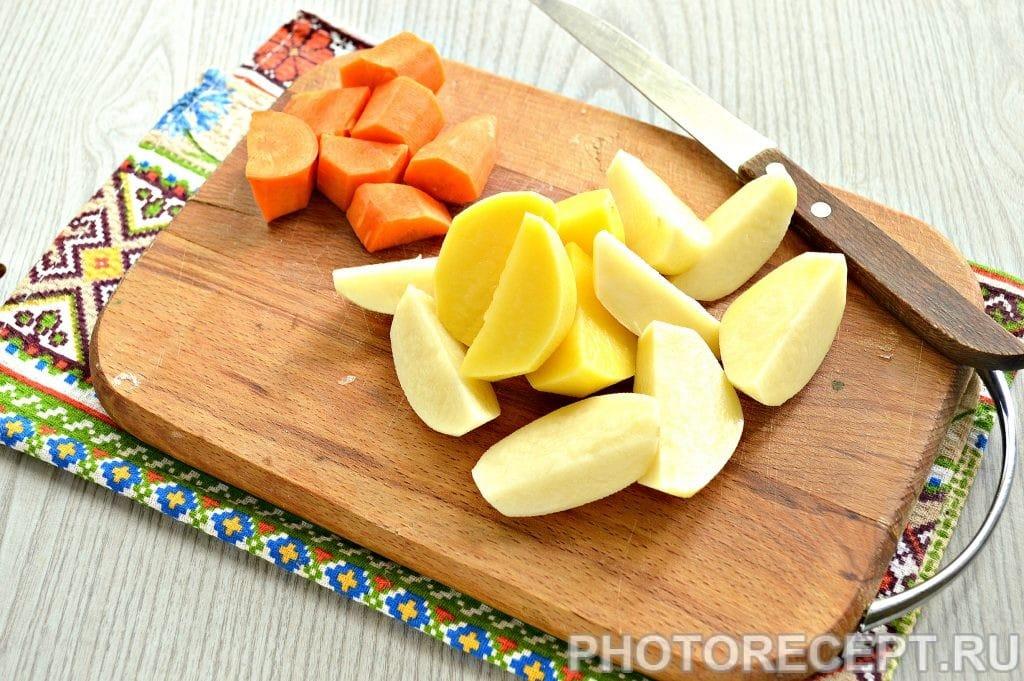 Фото рецепта - Морковно-картофельное пюре - шаг 3