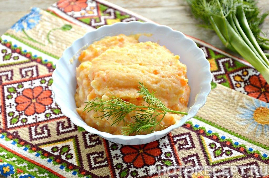 Фото рецепта - Морковно-картофельное пюре - шаг 6