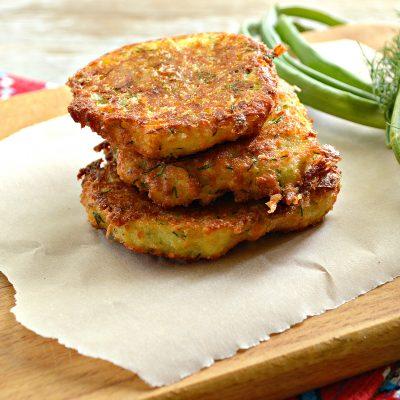 Оладьи из картофеля и творога - рецепт с фото