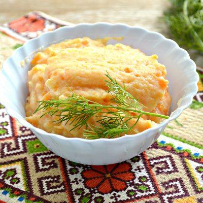 Морковно-картофельное пюре - рецепт с фото