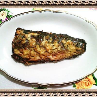 Горбуша запечённая в фольге - рецепт с фото