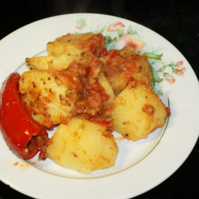 Картофель по-мумбайски - рецепт с фото