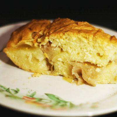 Вкусный и простой яблочный пирог - рецепт с фото