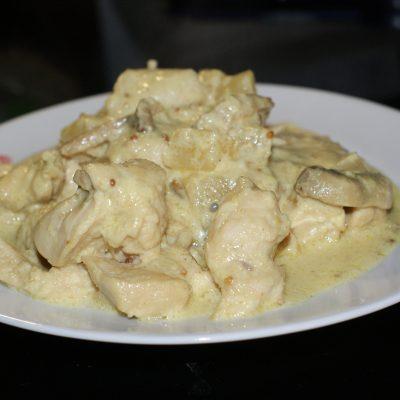 Куриное филе в сливках - рецепт с фото