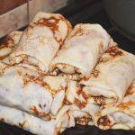 Воскресные блины «На завтрак» с начинкой из ветчины и сыра