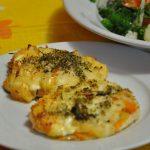 Куриное филе под сырно-овощной «шубкой»