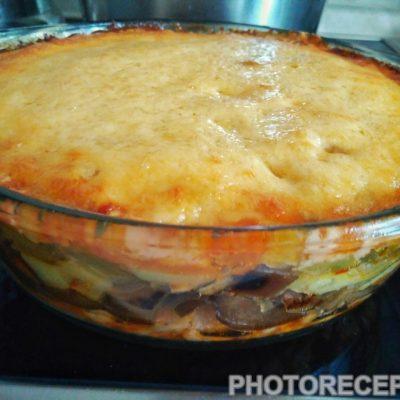 Овощная сказка - рецепт с фото