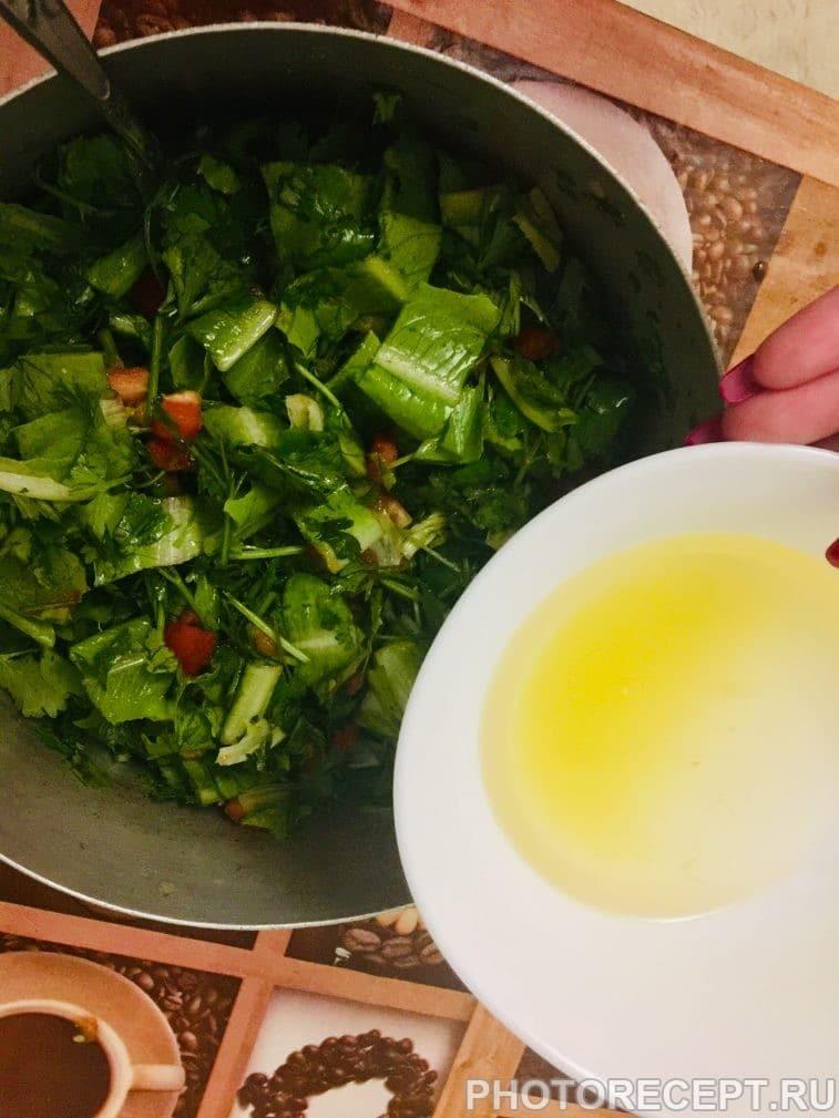 Фото рецепта - Салат Табуле - шаг 5