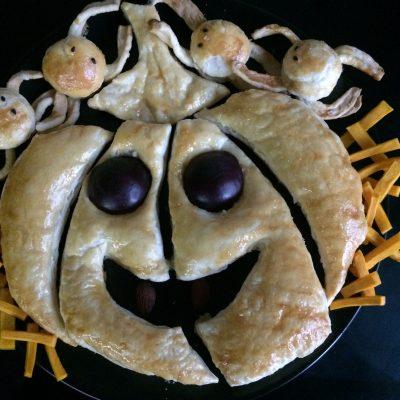 Печенье — тыква «Веселый Хэллоуин» - рецепт с фото