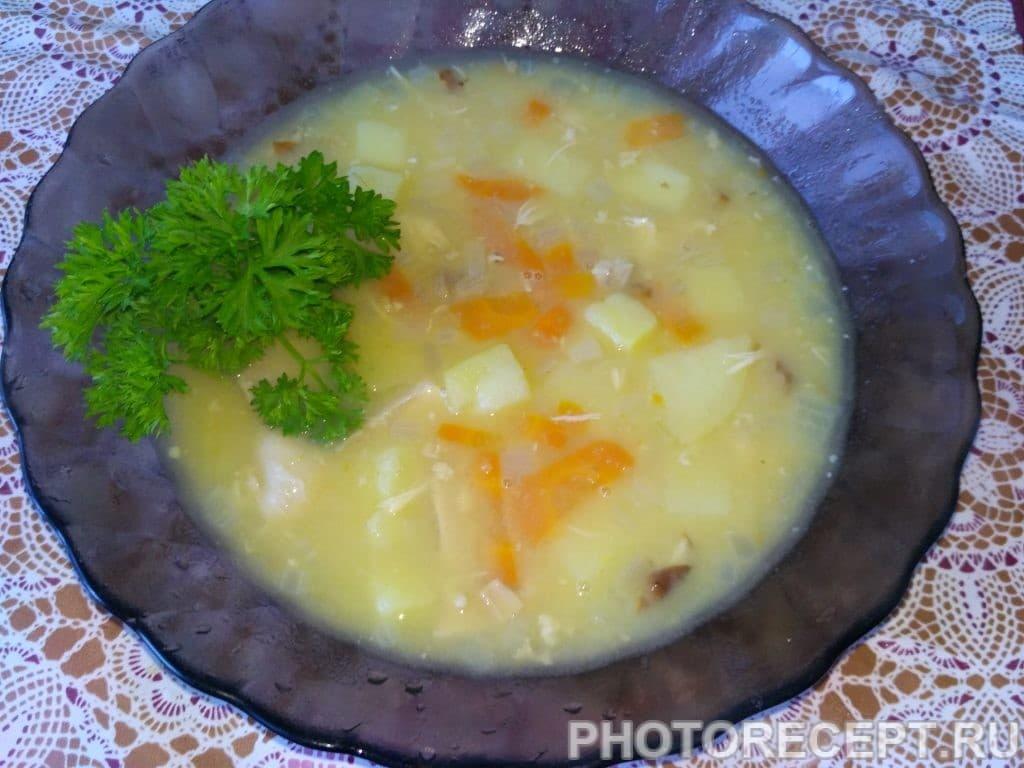 Фото рецепта - Супчик гороховый с копчёностями - шаг 8