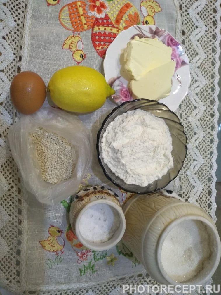Фото рецепта - Невероятно вкусное ароматное печенье с кунжутом - шаг 1