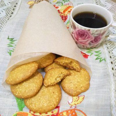 Невероятно вкусное ароматное печенье с кунжутом - рецепт с фото