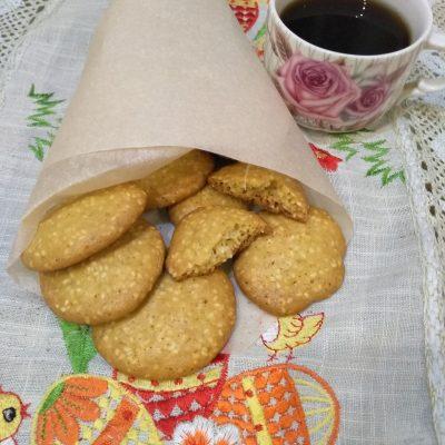 Фото рецепта - Невероятно вкусное ароматное печенье с кунжутом - шаг 4