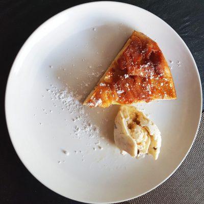 Карамельная шарлотка - рецепт с фото