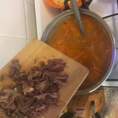 Фото рецепта - Солянка с картофелем - шаг 8