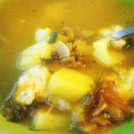 Легкий суп с фрикадельками и шампиньонами