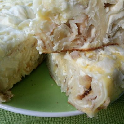 Ленивый торт без теста - рецепт с фото