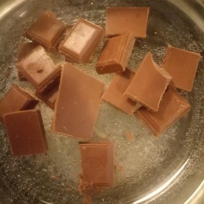 Фото рецепта - Сырок в шоколаде - шаг 2