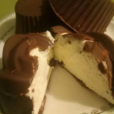Фото рецепта - Сырок в шоколаде - шаг 5