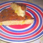 Пирог на основе варенья