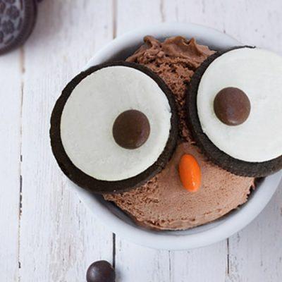 Домашнее шоколадное мороженое «Сова» - рецепт с фото