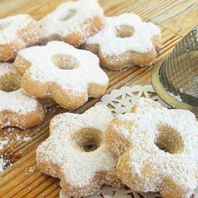 Итальянское печенье канестрелли - рецепт с фото
