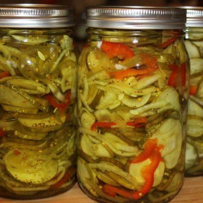 Салат из огурцов (Заготовка на зиму) - рецепт с фото