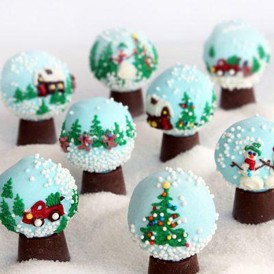 Снежные конфеты-трюфель из печенья, без выпечки - рецепт с фото