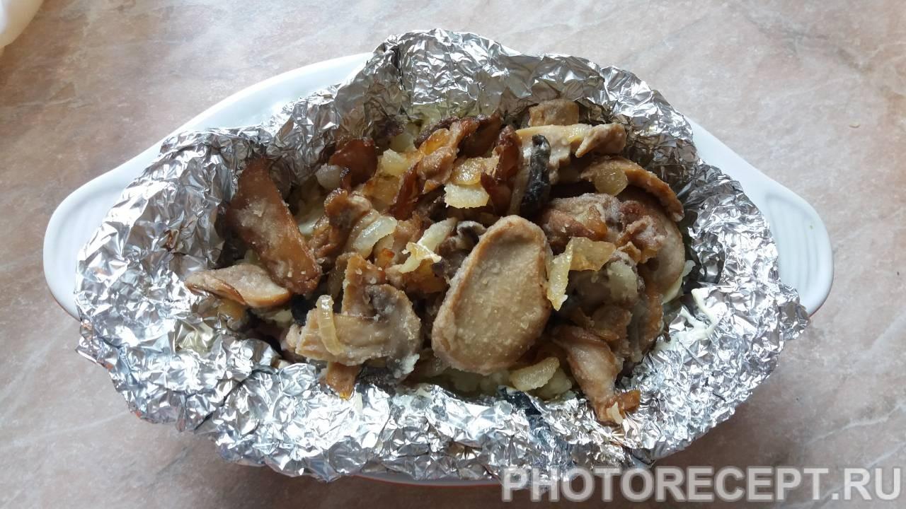 Картофель, запеченый в фольге
