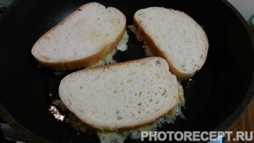 Фото рецепта - Бутерброды — драники - шаг 5