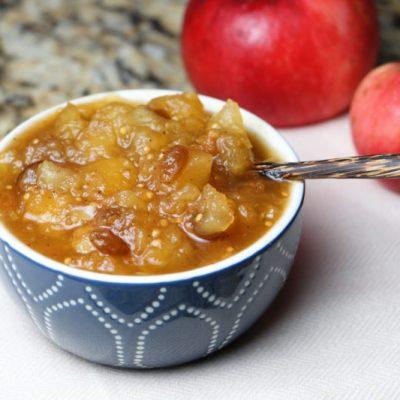 Яблочный чатни — соус - рецепт с фото