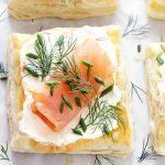 Закуска из сыра и соленой рыбы