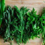 Зелень в масле (заготовка на зиму)