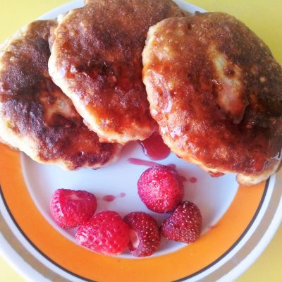 Овсяные оладушки - рецепт с фото