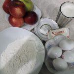 Фото рецепта - Заливной воздушный яблочный пирог - шаг 1